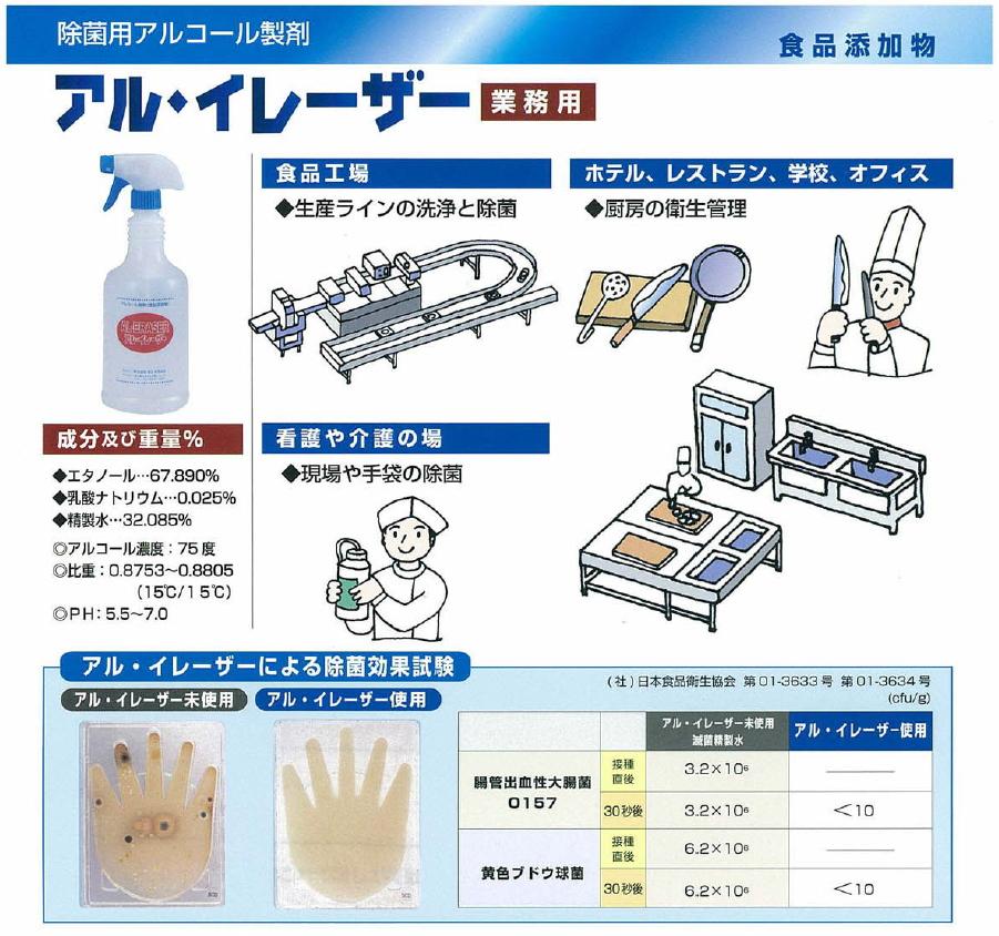横浜油脂 アルコール除菌剤